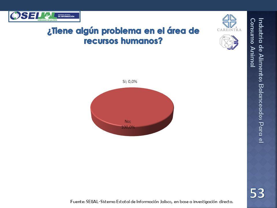 ¿Tiene algún problema en el área de recursos humanos