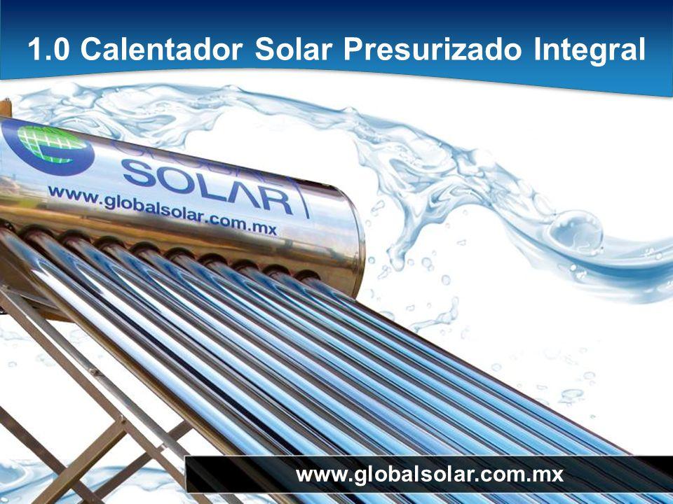 1.0 Calentador Solar Presurizado Integral