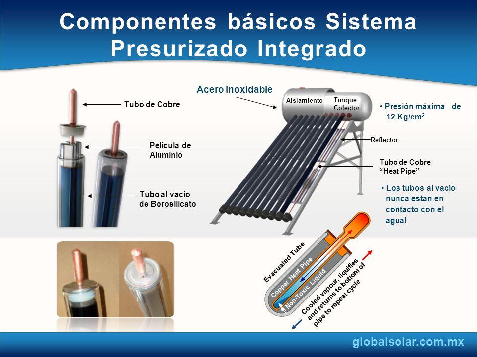 Componentes básicos Sistema Presurizado Integrado