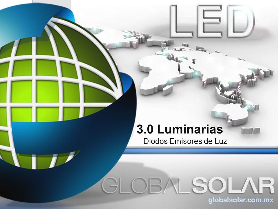 3.0 Luminarias Diodos Emisores de Luz globalsolar.com.mx