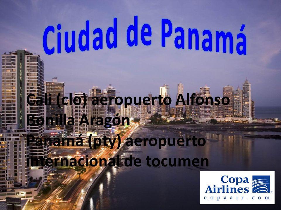 Ciudad de Panamá Cali (clo) aeropuerto Alfonso Bonilla Aragón