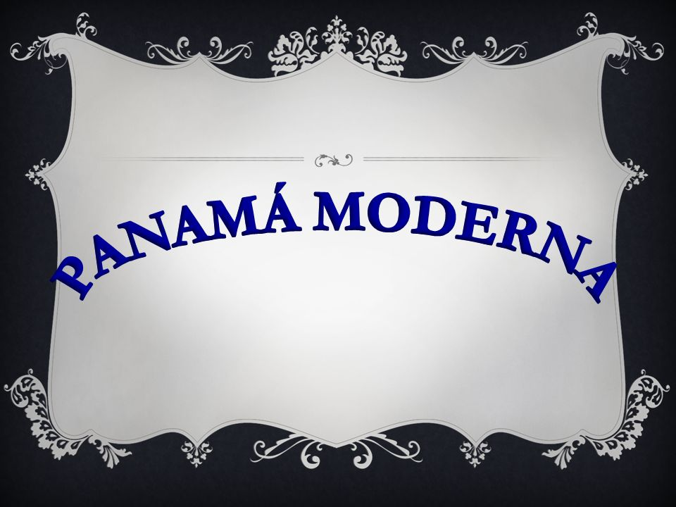 PANAMÁ MODERNA
