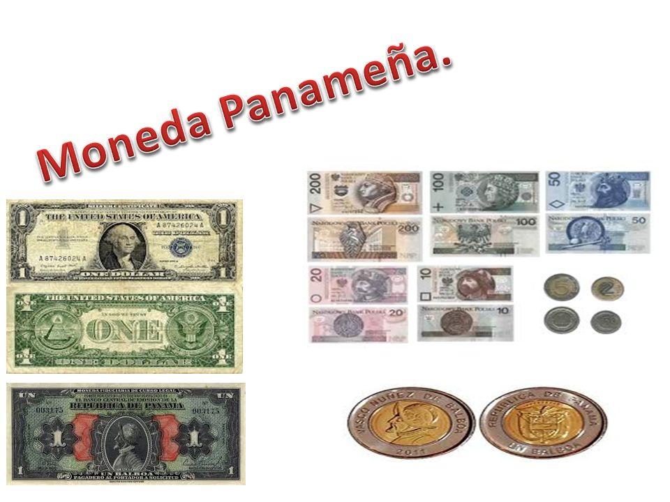 Moneda Panameña.