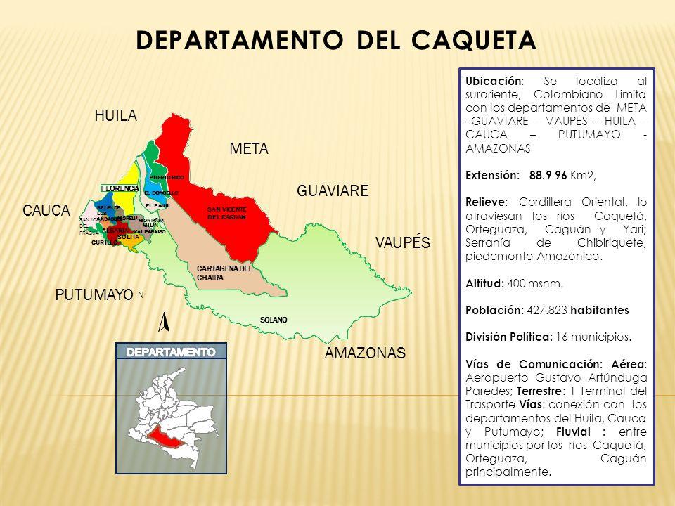 DEPARTAMENTO DEL CAQUETA