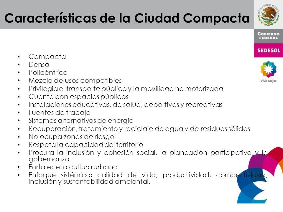 Características de la Ciudad Compacta