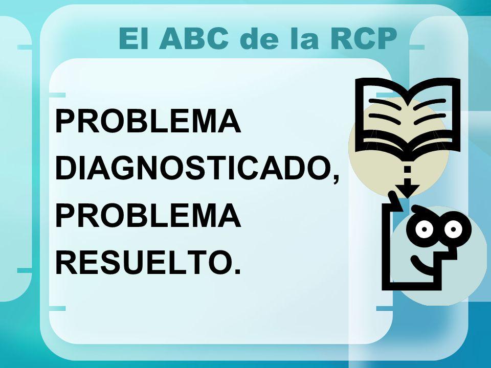 El ABC de la RCP PROBLEMA DIAGNOSTICADO, RESUELTO.