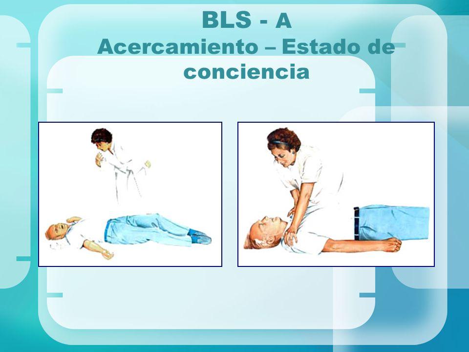 BLS - A Acercamiento – Estado de conciencia