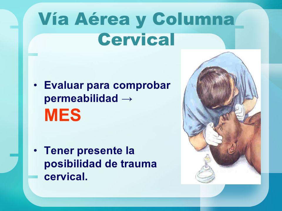 Vía Aérea y Columna Cervical