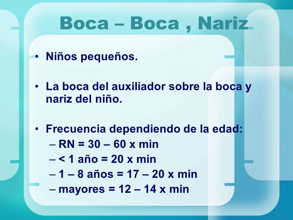 Boca – Boca , Nariz Niños pequeños.