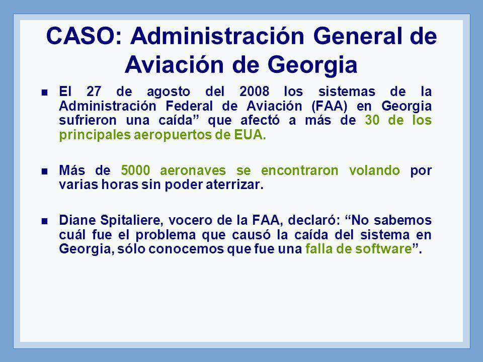 CASO: Administración General de Aviación de Georgia