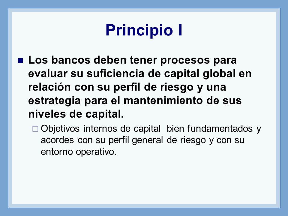 Principio I