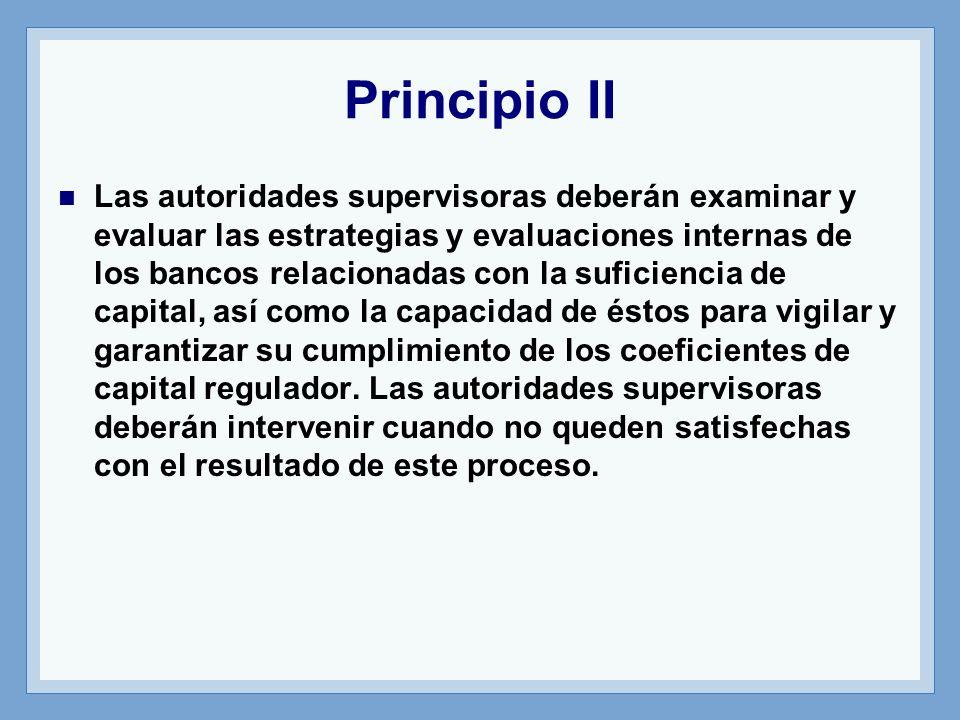 Principio II