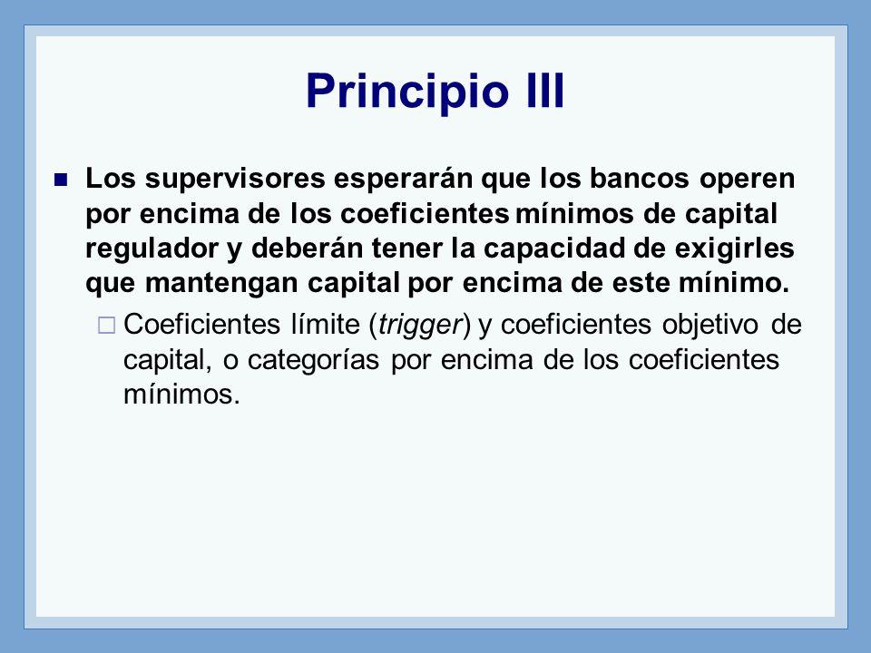Principio III