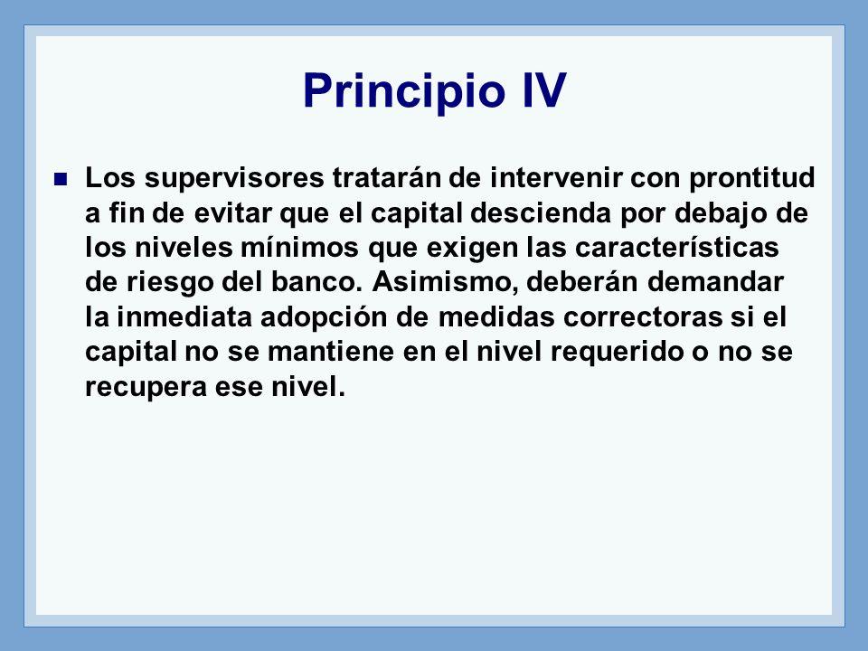 Principio IV
