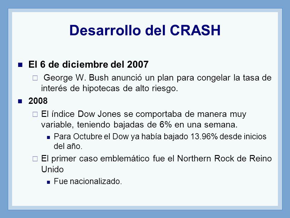 Desarrollo del CRASH El 6 de diciembre del 2007
