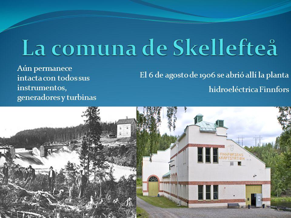 La comuna de Skellefteå