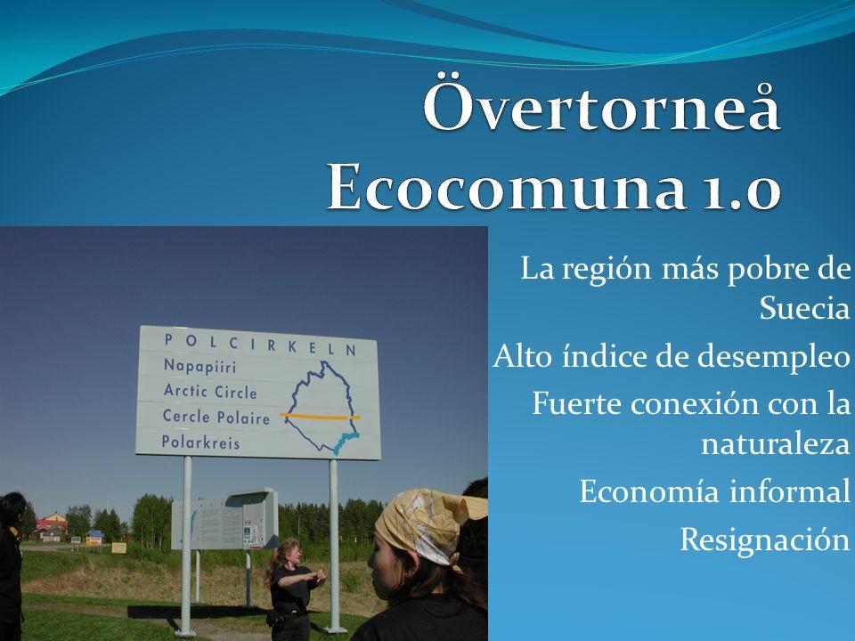 Övertorneå Ecocomuna 1.0 La región más pobre de Suecia