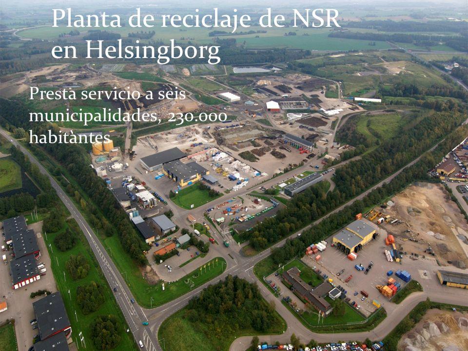 Planta de reciclaje de NSR en Helsingborg