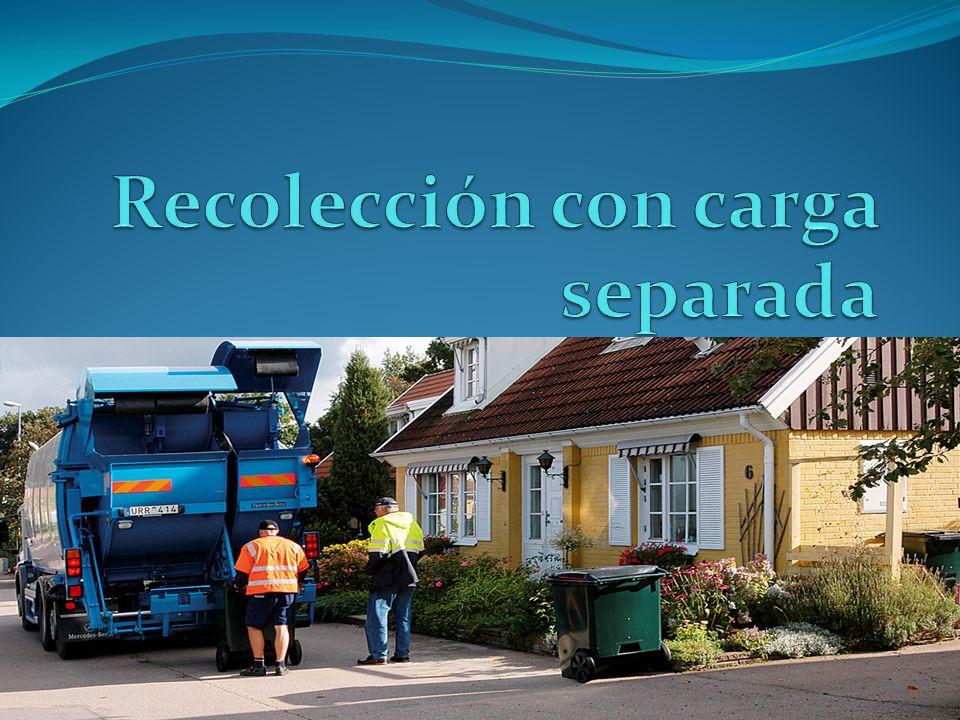 Recolección con carga separada