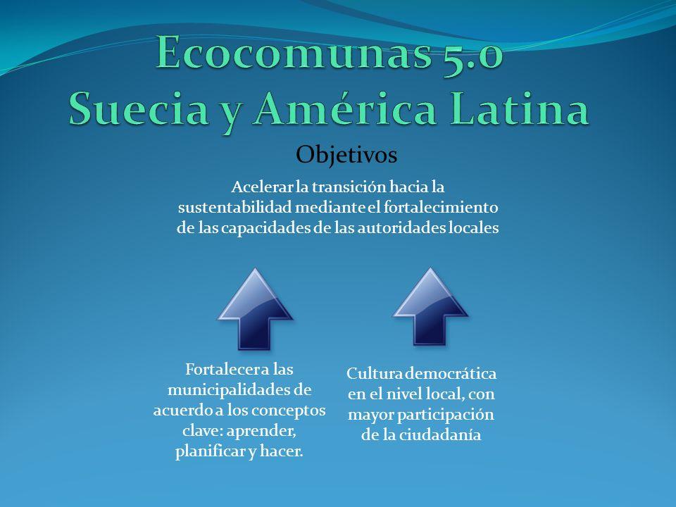 Ecocomunas 5.0 Suecia y América Latina