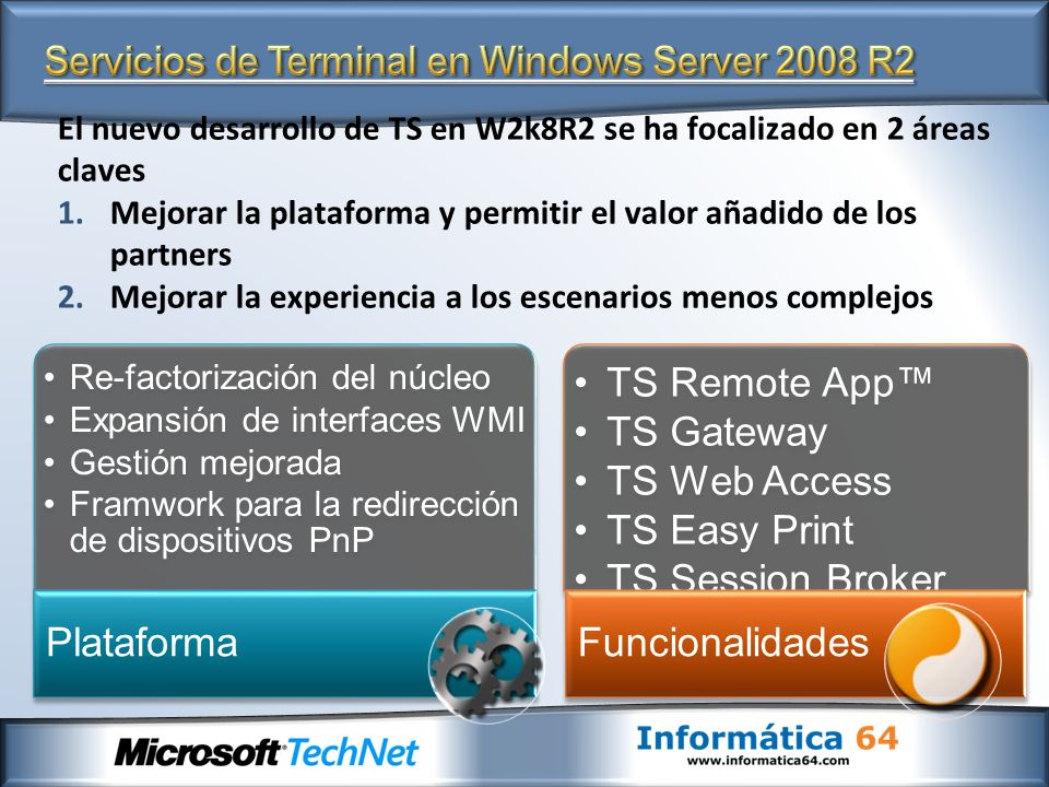 Servicios de Terminal en Windows Server 2008 R2