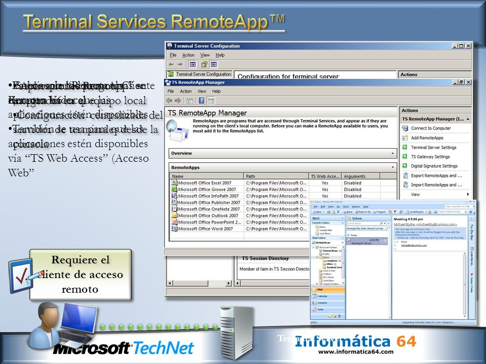 Terminal Services RemoteApp™