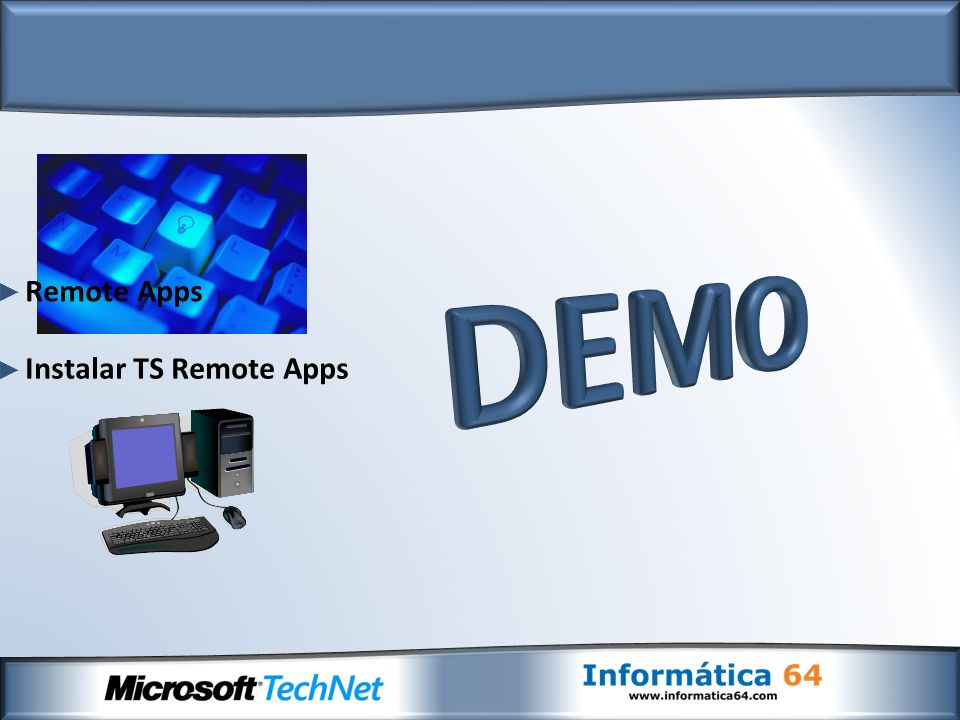 Instalar TS Remote Apps