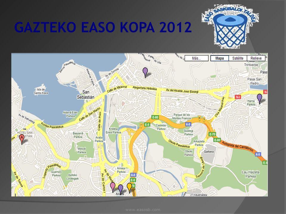 GAZTEKO EASO KOPA 2012 www.easosb.com