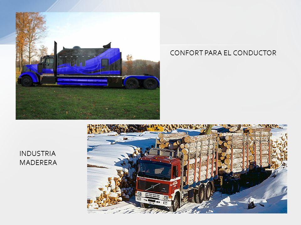 CONFORT PARA EL CONDUCTOR