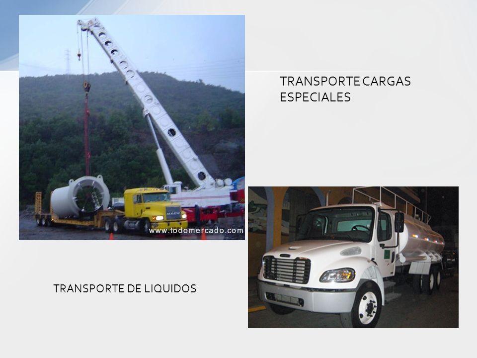 TRANSPORTE CARGAS ESPECIALES
