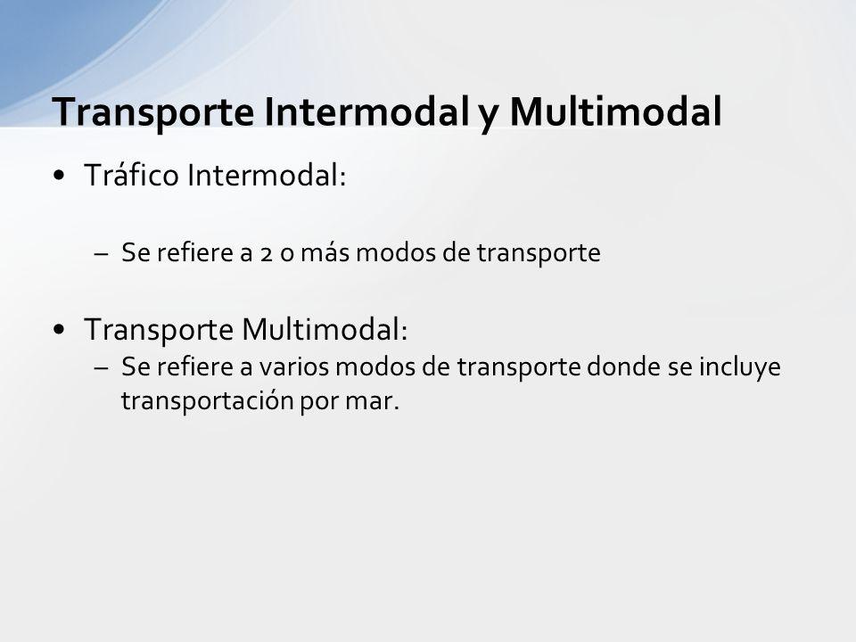 Transporte Intermodal y Multimodal