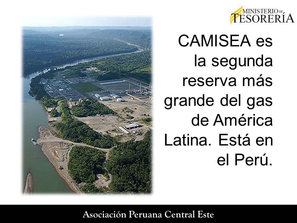 CAMISEA es la segunda reserva más grande del gas de América Latina