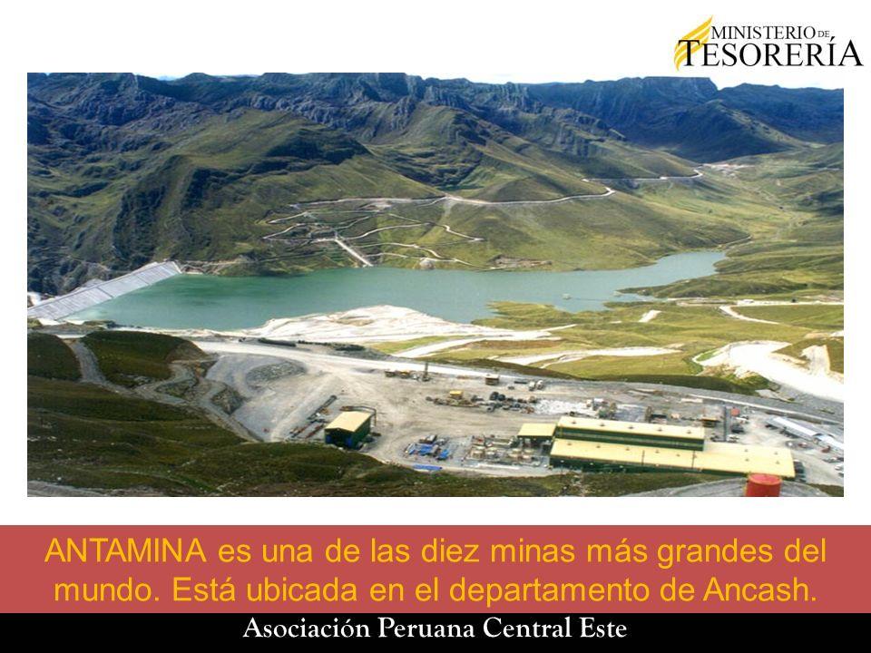 ANTAMINA es una de las diez minas más grandes del mundo