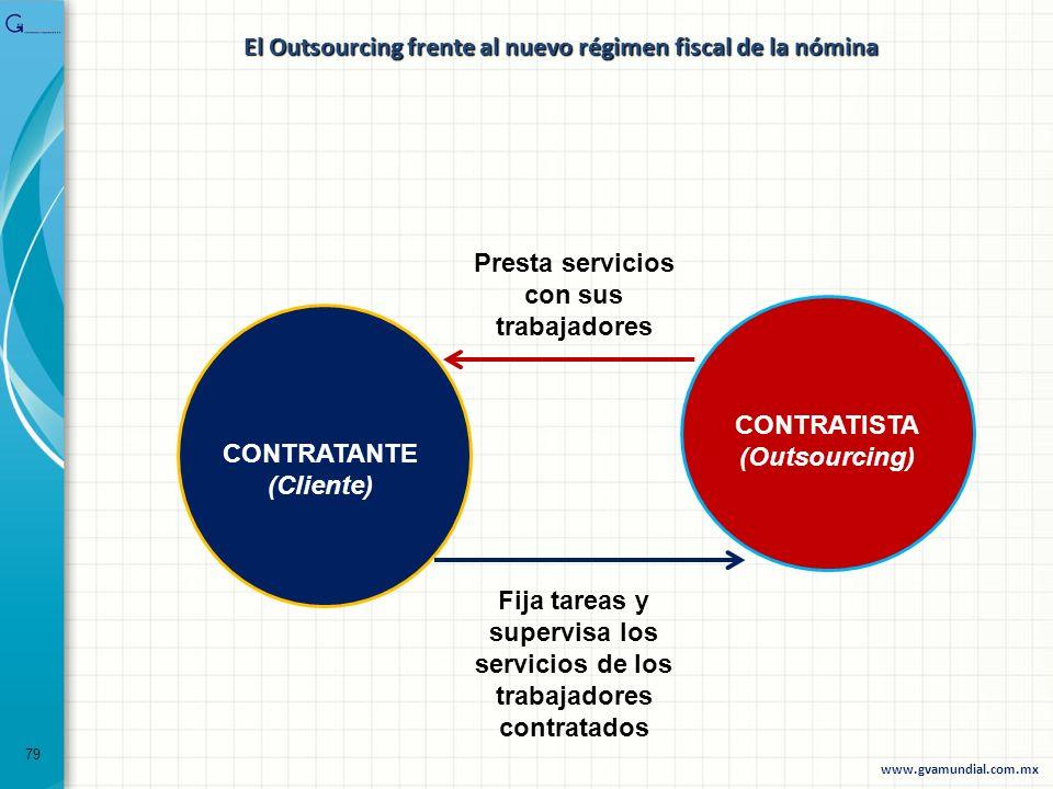 El Outsourcing frente al nuevo régimen fiscal de la nómina