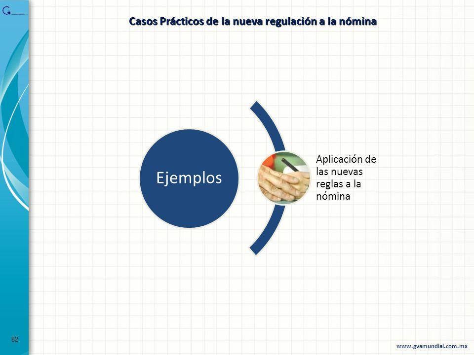 Casos Prácticos de la nueva regulación a la nómina