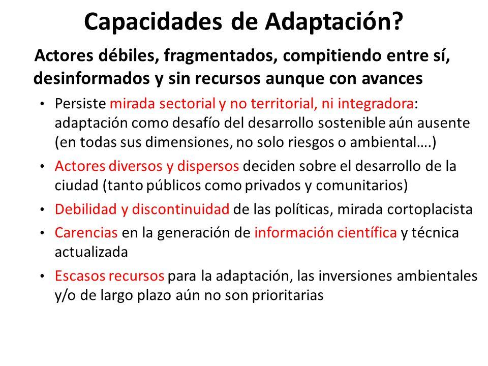 Capacidades de Adaptación
