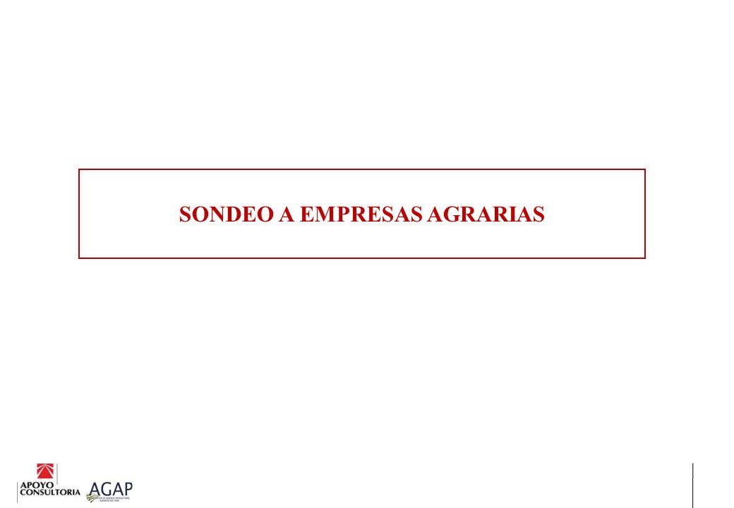 SONDEO A EMPRESAS AGRARIAS