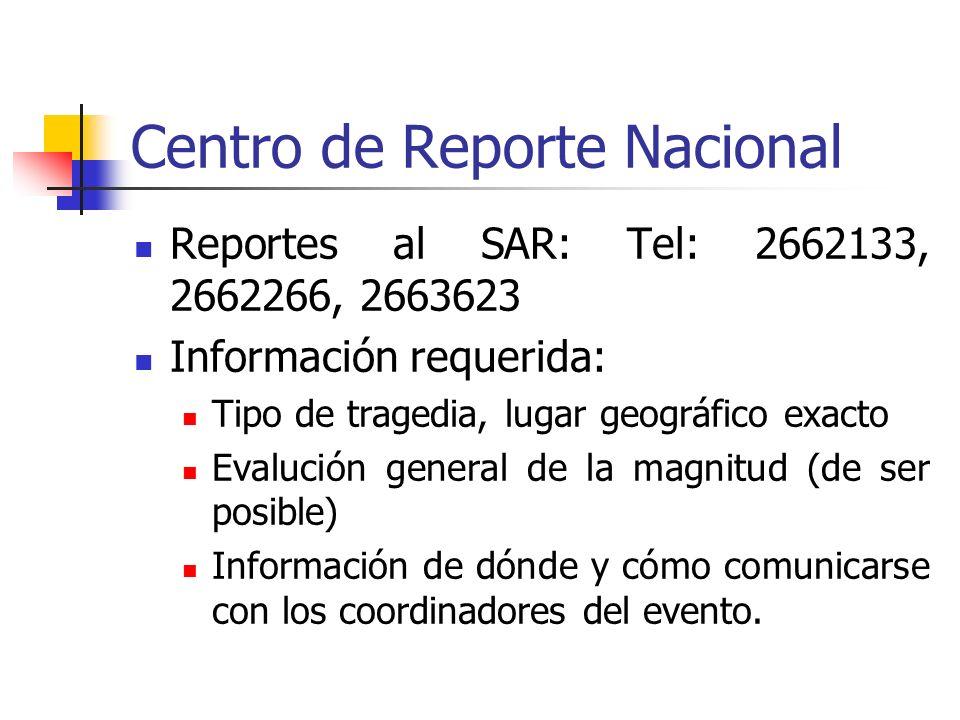 Centro de Reporte Nacional