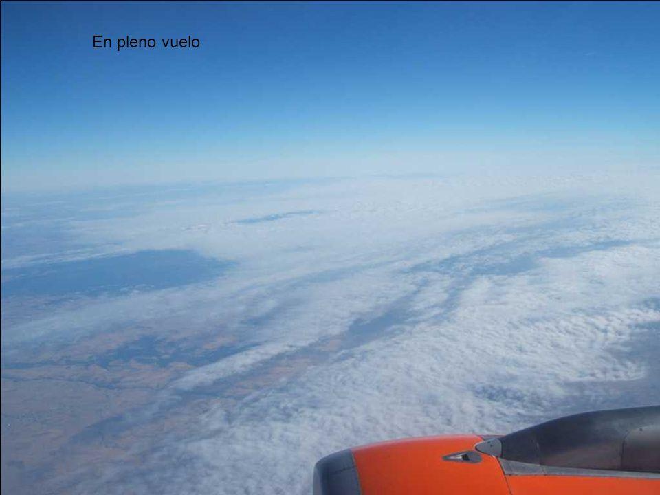 En pleno vuelo