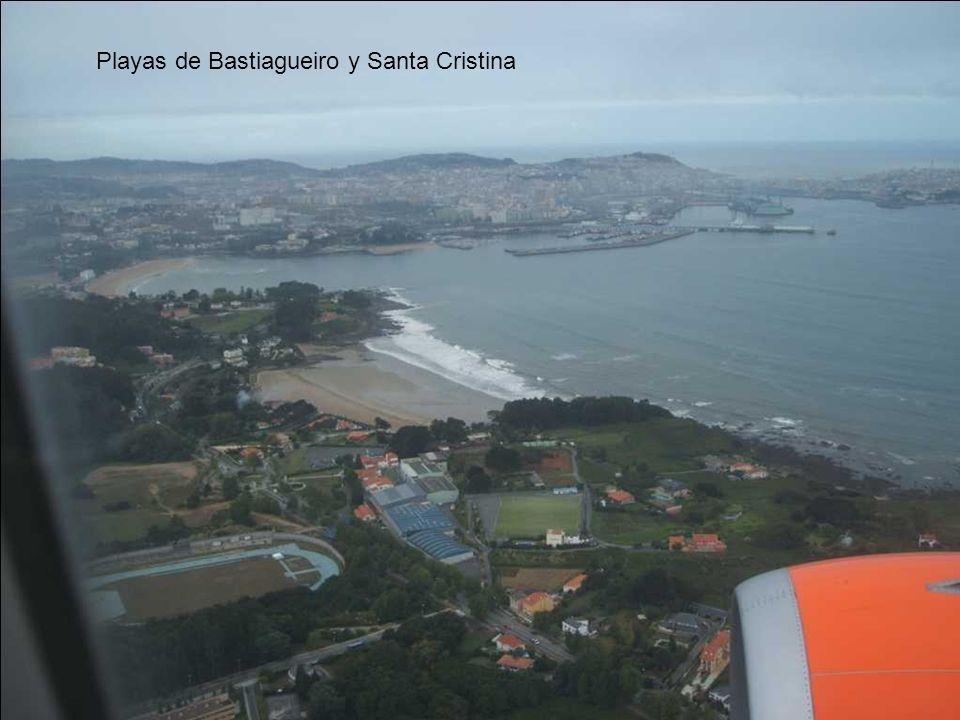 Playas de Bastiagueiro y Santa Cristina
