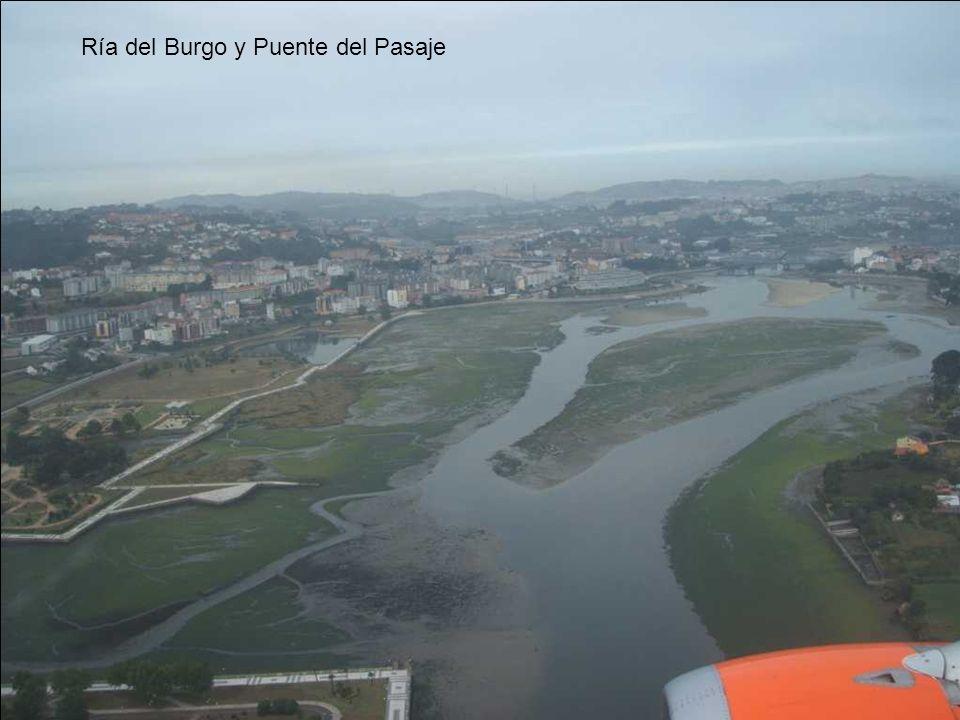 Ría del Burgo y Puente del Pasaje