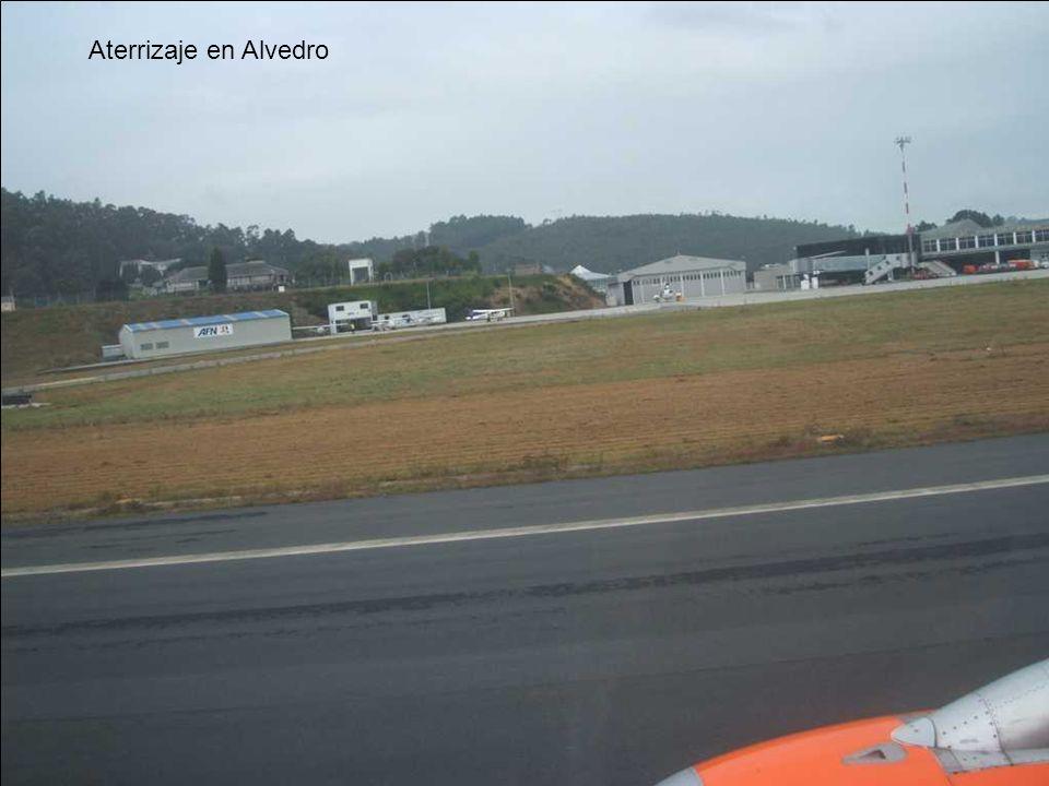 Aterrizaje en Alvedro