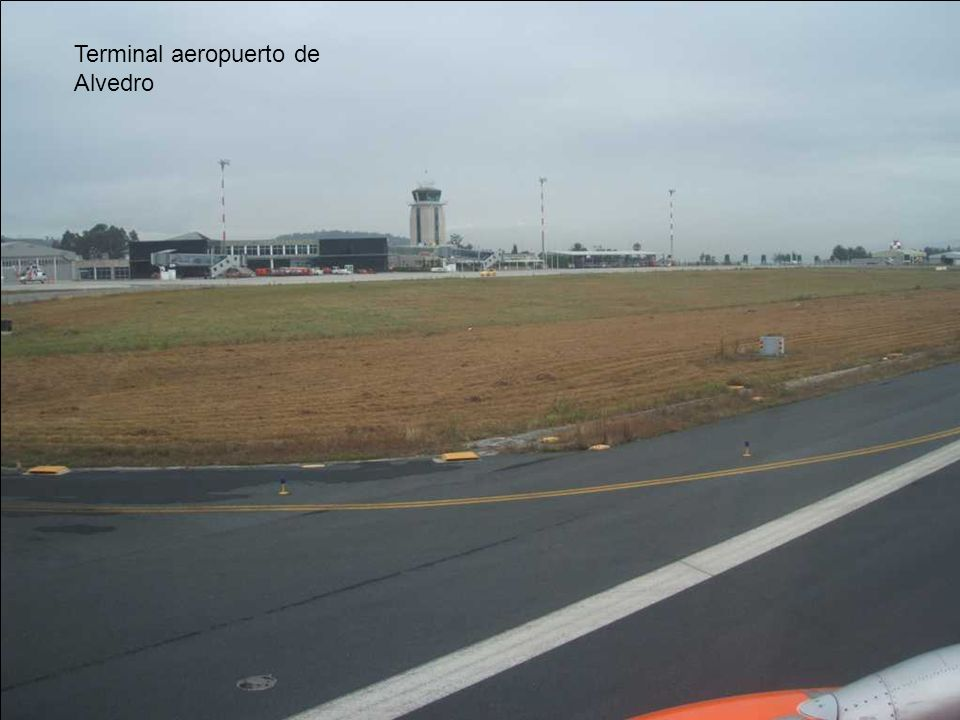 Terminal aeropuerto de Alvedro