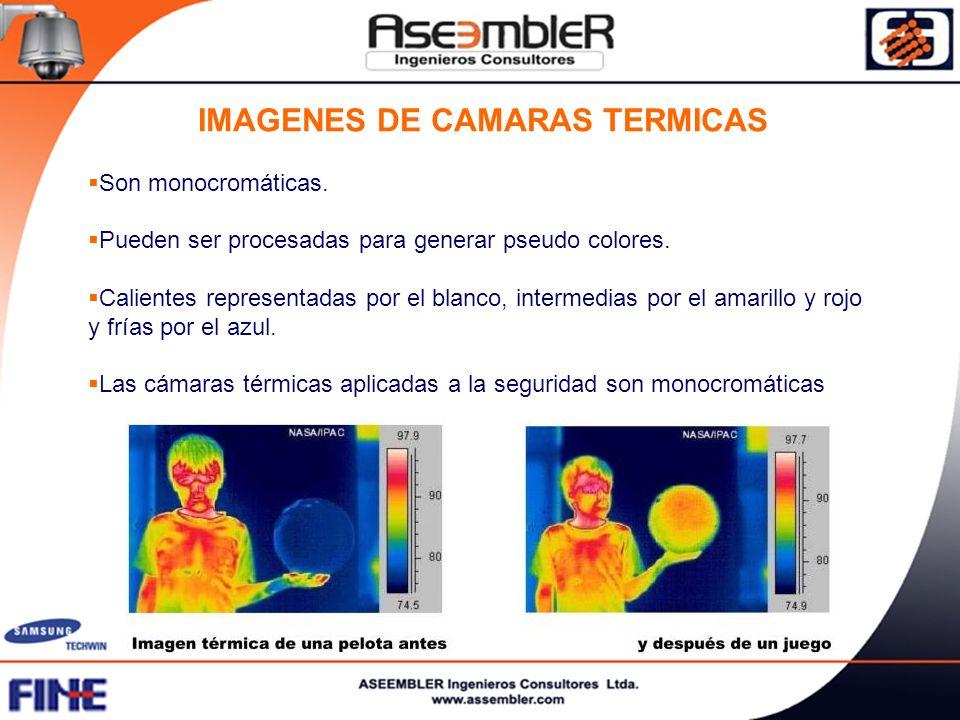 IMAGENES DE CAMARAS TERMICAS
