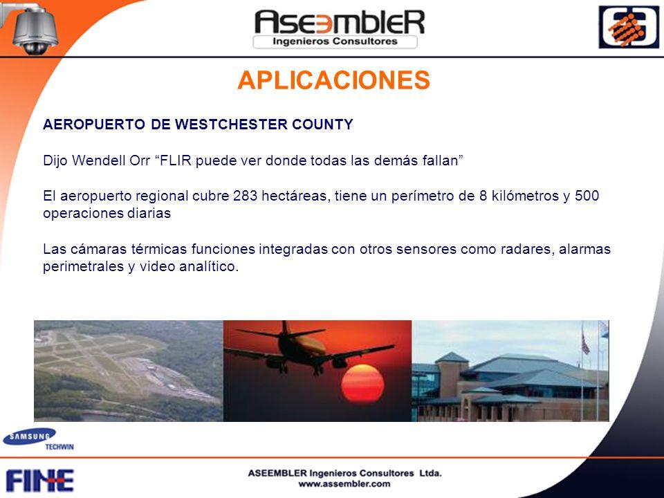 APLICACIONES AEROPUERTO DE WESTCHESTER COUNTY