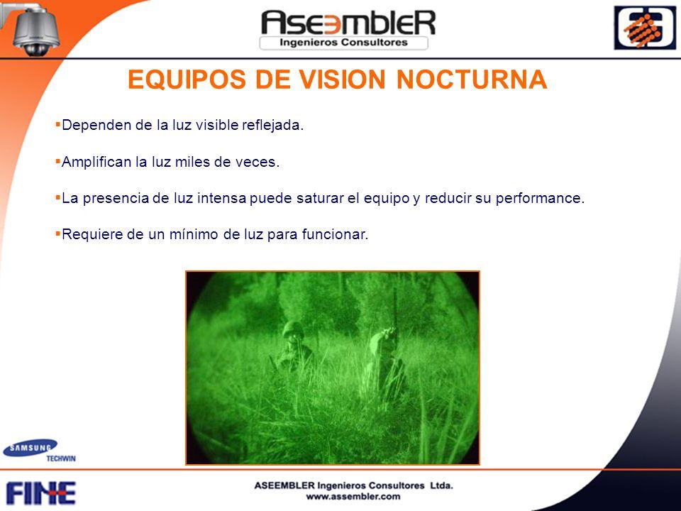 EQUIPOS DE VISION NOCTURNA