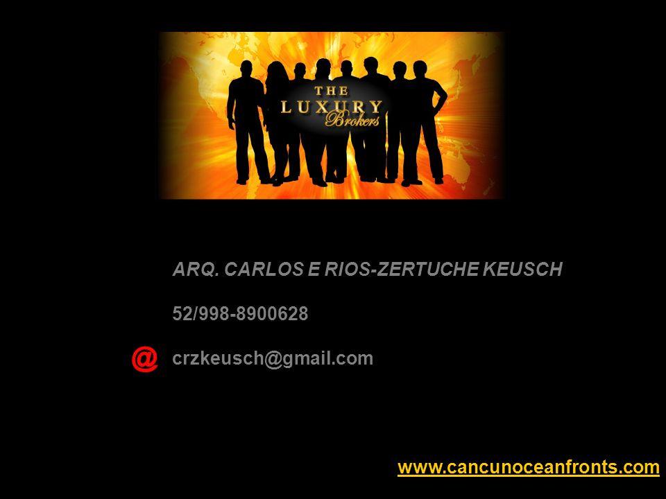 ARQ. CARLOS E RIOS-ZERTUCHE KEUSCH