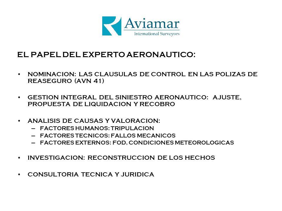 EL PAPEL DEL EXPERTO AERONAUTICO: