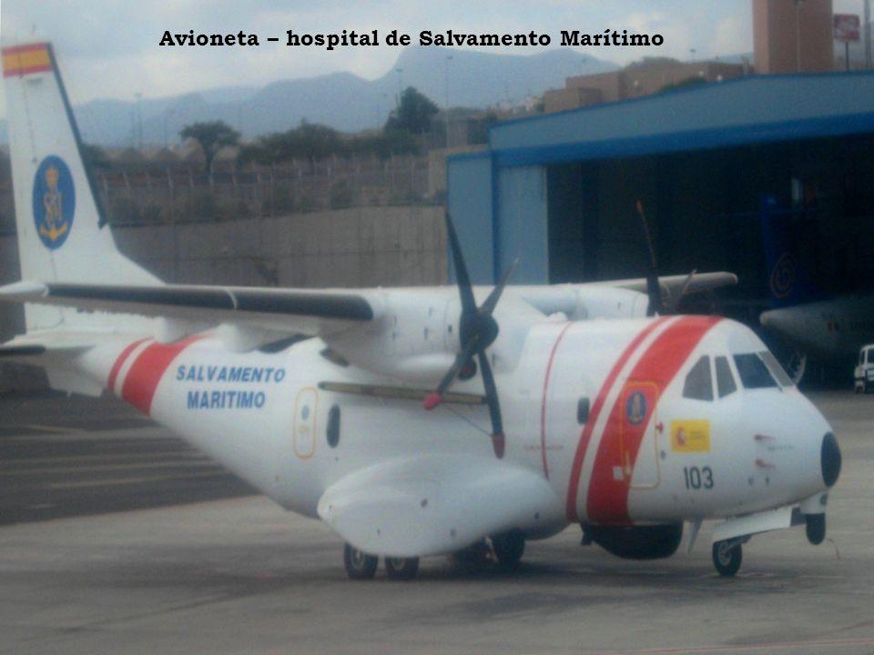 Avioneta – hospital de Salvamento Marítimo
