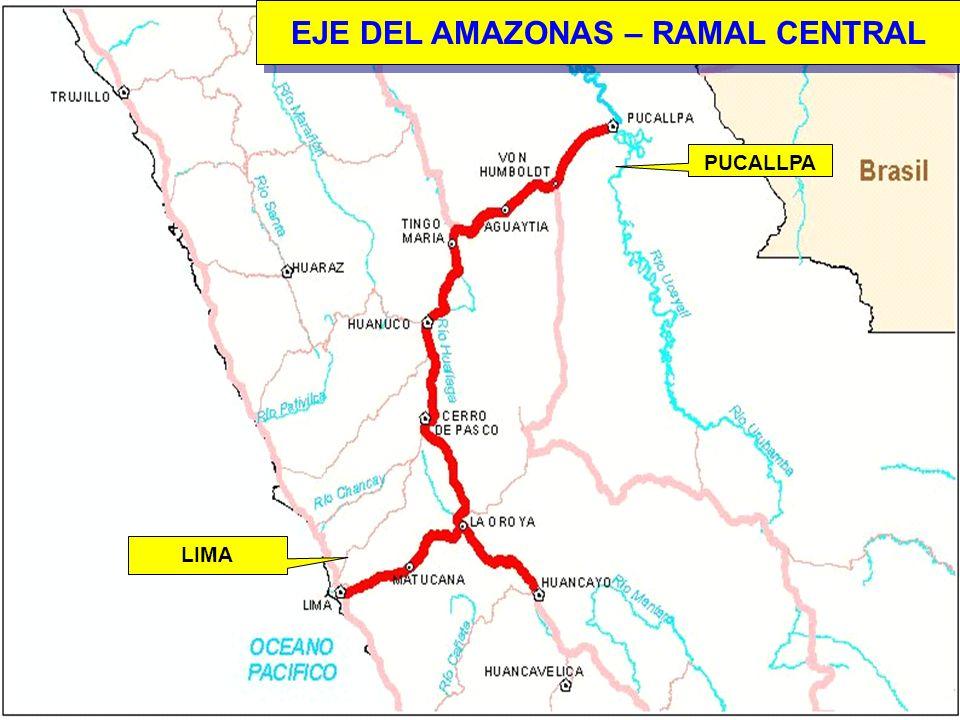 EJE DEL AMAZONAS – RAMAL CENTRAL